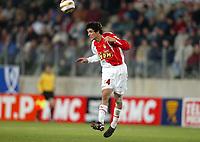 Fotball<br /> Frankrike 2004/05<br /> Ligacup<br /> Sedan v Monaco<br /> 9. november 2004<br /> Foto: Digitalsport<br /> NORWAY ONLY<br /> FRANCOIS JOSEPH MODESTO (MON)
