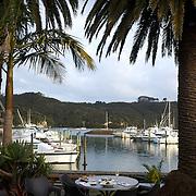 The view from Salt Restaurant at  Whitianga, Coromandel. New Zealand, 30th November 2010.  Photo Tim Clayton.