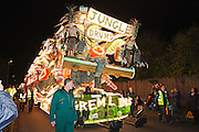 Jungle Drums by Gremlins Carnival Club. Winner of the Feature class and overall winner at the 2011 Glastonbury Chilkwell Guy Fawkes Carnival.