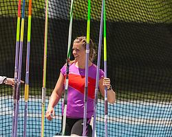 Asdis Hjalmsdottir, Iceland, women's javelin, adidas Grand Prix Diamond League track and field meet