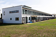Former airport terminal building converted to housing, Ipswich, Suffolk, England, UK Henning and Chitty 1938