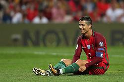 August 31, 2017 - Porto, Porto, Portugal - Portugal's forward Cristiano Ronaldo in action during the FIFA World Cup Russia 2018 qualifier match between Portugal and Faroe Islands at Bessa Sec XXI Stadium on August 31, 2017 in Porto, Portugal. (Credit Image: © Dpi/NurPhoto via ZUMA Press)