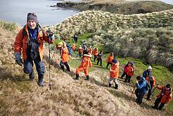 Paul On Hike From Maiviken To Grytviken