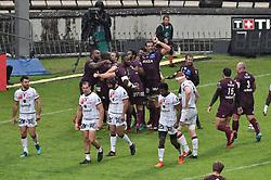October 28, 2018 - Bordeaux, France - Essai  et joie Mahamadou Diaby  (Credit Image: © Panoramic via ZUMA Press)