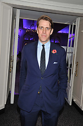 BEN ELLIOT at the Quintessentially Foundation poker evening at The Savoy Hotel, London on 30th October 2012.