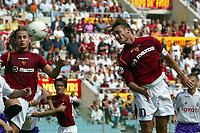 Fotball<br /> Italia 2004/05<br /> Roma v Fiorentina<br /> 12. september 2004<br /> Foto: Digitalsport<br /> NORWAY ONLY<br /> HEAD SHOT OF FRANCESCO TOTTI
