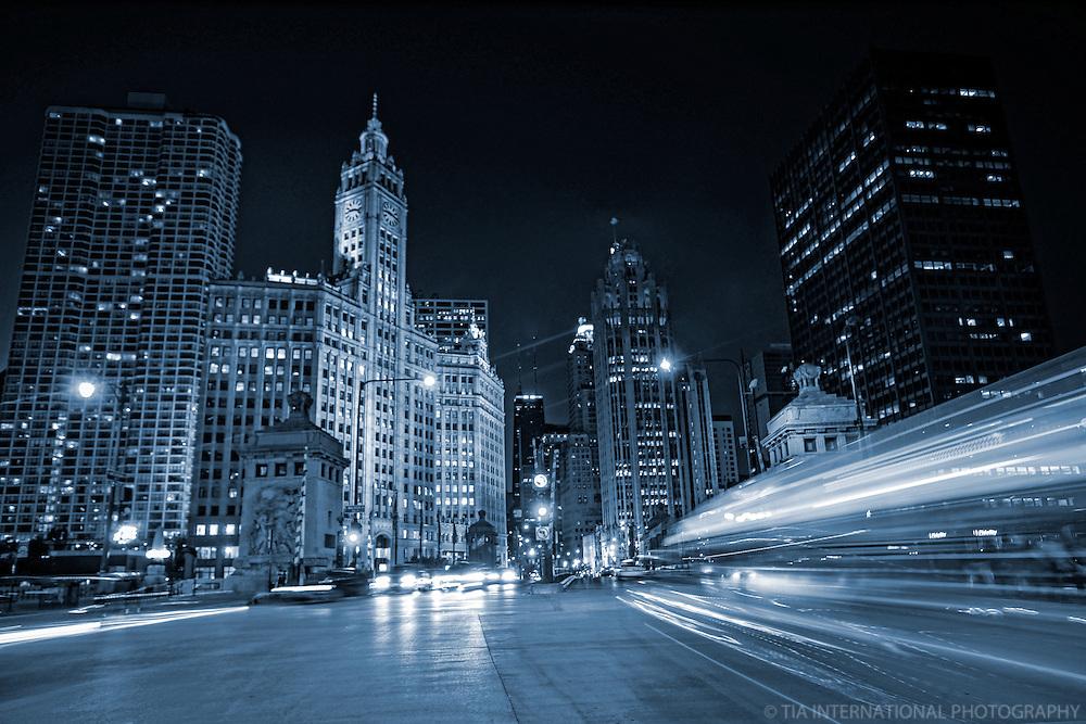 Michigan Avenue @ Twilight