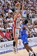 DESCRIZIONE : Campionato 2014/15 Serie A Beko Dinamo Banco di Sardegna Sassari - Grissin Bon Reggio Emilia Finale Playoff Gara4<br /> GIOCATORE : Ojars Silins<br /> CATEGORIA : Tiro Tre Punti Three Point<br /> SQUADRA : Grissin Bon Reggio Emilia<br /> EVENTO : LegaBasket Serie A Beko 2014/2015<br /> GARA : Dinamo Banco di Sardegna Sassari - Grissin Bon Reggio Emilia Finale Playoff Gara4<br /> DATA : 20/06/2015<br /> SPORT : Pallacanestro <br /> AUTORE : Agenzia Ciamillo-Castoria/L.Canu