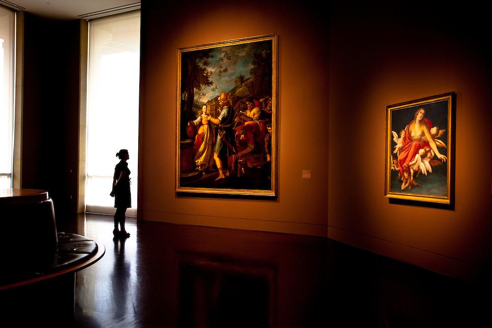 Interior of the Blanton Museum of Art in Austin, Texas. Photograph © 2011 Darren Carroll