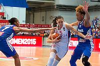 Sonja Petrovic - 28.06.2015 - France / Serbie - Finale Championnat d'Europe feminin de Basket ball -Budapest<br /> Photo : Attila Volgyi / Icon Sport