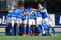 UTRECHT -  teamhuddle Kampong   voor  de finale van de play-offs om de landtitel tussen de heren van Kampong en Amsterdam (3-1). COPYRIGHT  KOEN SUYK