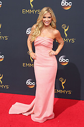 Debbie Matenopoulos arriving for The 68th Emmy Awards at the Microsoft Theater, LA Live, Los Angeles, 18th September 2016.