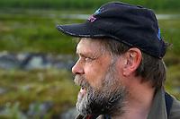 Åke Aronsson, expert in Large Carnivores, Greater Laponia rewilding area, Lapland, Norrbotten, Sweden