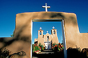 SPANISH MISSION, NEW MEXICO San Francisco de Asis near Taos