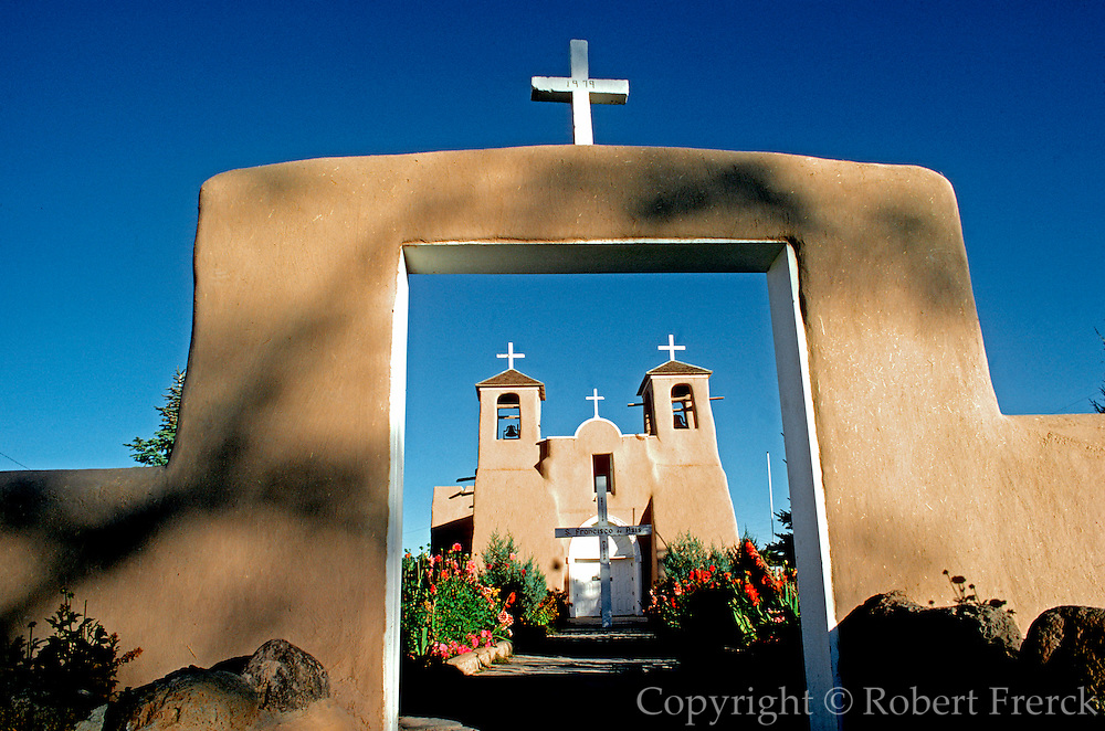 SPANISH MISSION, NEW MEXICO San Francisco de Asis near Taos