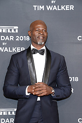 Actor Djimon Hounsou attends the Pirelli Calendar 2018 Launch Gala at The Manhattan Center in New York, NY, on November 10, 2017. (Photo by Anthony Behar/Sipa USA)