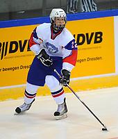 Ishockey<br /> VM U18 2011<br /> Foto: imago/Digitalsport<br /> NORWAY ONLY<br /> <br /> 14.04.2011<br /> <br /> Dresden, EnergieVerbund Arena: Eishockey IIHF U18 Weltmeisterschaft, Vorrunde<br /> <br /> Finland v Norge<br /> <br /> Norwegens Marcus Noteng (Rosenborg)