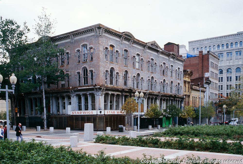 F Street and 8th NW Washington DC, 1995