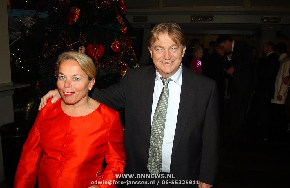 Kerstborrel Princess 2004, Fagel en vrouw