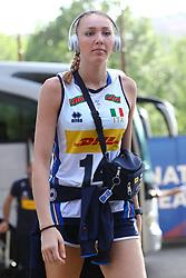 ELENA PIETRINI (ITALIA)<br /> ITALIA - KOREA<br /> PALLAVOLO VNL VOLLEY PERUGIA <br /> PERUGIA 12-06-2019<br /> FOTO GALBIATI - RUBIN