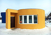 The first 3D printed house