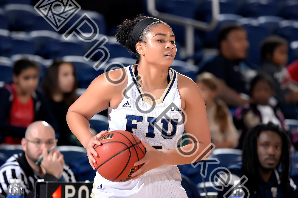 2016 January 23 - FIU's Amari Hawkins (25). <br /> Florida International University fell to UTEP, 57-69, at FIU Arena, Miami, Florida. (Photo by: Alex J. Hernandez / photobokeh.com) This image is copyright by PhotoBokeh.com and may not be reproduced or retransmitted without express written consent of PhotoBokeh.com. ©2016 PhotoBokeh.com - All Rights Reserved