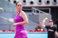 Italian Roberta Vinci during Mutua Madrid Open Tennis 2017 at Caja Magica in Madrid, May 09, 2017. Spain.<br /> (ALTERPHOTOS/BorjaB.Hojas)