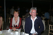Viscount and Viscountess Windsor. Mollie Dent-Brocklehurst and Vanity Fair host  the opening of 'Vertigo'  a mixed art exhibition at Sudeley Castle. Winchombe, Gloucestershire. 18 June 2005. ONE TIME USE ONLY - DO NOT ARCHIVE  © Copyright Photograph by Dafydd Jones 66 Stockwell Park Rd. London SW9 0DA Tel 020 7733 0108 www.dafjones.com