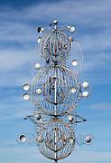 César Manrique wind mobile sculpture at Tahiche, Lanzarote, Canary Islands, Spain