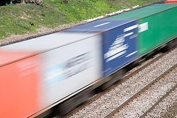 Express freight train wagons,