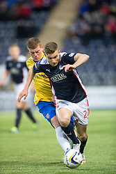 Falkirk's Alex Cooper. <br /> Falkirk 1 v 0 Cowdenbeath, Scottish Championship game played 31/3/2015 at The Falkirk Stadium.
