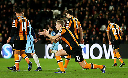 Michael Dawson of Hull City applauds his team mates - Mandatory by-line: Matt McNulty/JMP - 26/12/2016 - FOOTBALL - KC Stadium - Hull, England - Hull City v Manchester City - Premier League