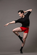 Carlos Narvaez-Duran poses for a portrait during a photo shoot at Bay Pointe Ballet in South San Francisco, California, on March 11, 2016. (Stan Olszewski/SOSKIphoto)