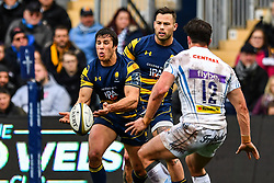 Dean Hammond of Worcester Warriors in action - Mandatory by-line: Craig Thomas/JMP - 27/01/2018 - RUGBY - Sixways Stadium - Worcester, England - Worcester Warriors v Exeter Chiefs - Anglo Welsh Cup