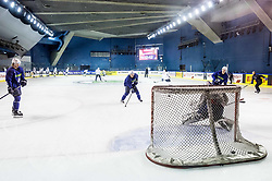 Ken Ograjensek of Slovenia during practice session of Team Slovenia at the 2017 IIHF Men's World Championship, on May 8, 2017 in Accorhotels Arena in Paris, France. Photo by Vid Ponikvar / Sportida
