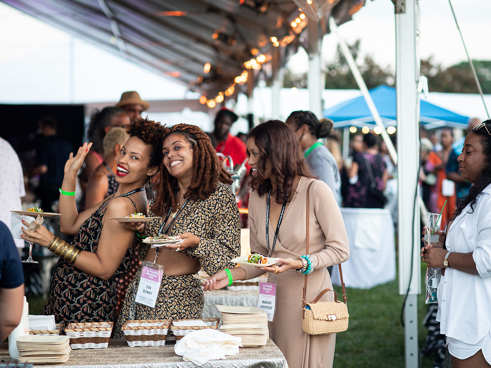 Middleburg, VA - August 20, 2021: Scenes from  Day Two of Kwame Onuachi Presents The Family Reunion in and around Salamander Resort and Spa.