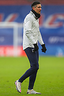 Crystal Palace defender Martin Kelly (34) warming up prior to the Premier League match between Crystal Palace and Wolverhampton Wanderers at Selhurst Park, London, England on 30 January 2021.