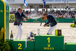 Conter Stefan, BEL, Allen Bertram, IRL<br /> Grand Prix Rolex powered by Audi <br /> CSI5* Knokke 2019<br /> © Hippo Foto - Dirk Caremans<br /> 30/06/2019