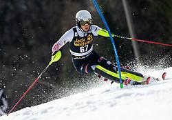 KOLEGA Samuel of Croatia during the Audi FIS Alpine Ski World Cup Men's Slalom 58th Vitranc Cup 2019 on March 10, 2019 in Podkoren, Kranjska Gora, Slovenia. Photo by Matic Ritonja / Sportida