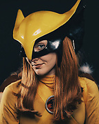 Hawk Girl, portrayed by Hannelore Ohaus,poses for a portrait at Emerald City Comicon attheWashington State Convention Center on Sunday, March 5, 2017.
