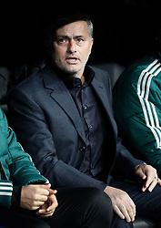 06-11-2012 VOETBAL: UEFA CL REAL MADRID - BORUSSIA DORTMUND: MADRID<br /> coach Jose Mourinho<br /> ***NETHERLANDS ONLY***<br /> ©2012-FotoHoogendoorn.nl