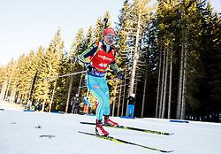 Sergey Semenov (UKR) during Men 12,5 km Pursuit at day 3 of IBU Biathlon World Cup 2015/16 Pokljuka, on December 19, 2015 in Rudno polje, Pokljuka, Slovenia. Photo by Vid Ponikvar / Sportida