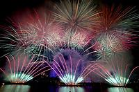 New Years eve fireworks London, United Kingdom - 01 Jan 2020 photo by Michael Palmer