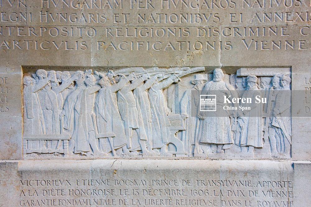 Reformation Wall, Bastion Park in Geneva, Switzerland