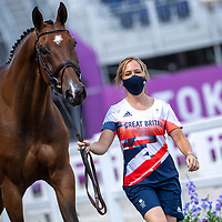 DAY 7  - 29 JULY - EVENTING FIRST INSPECTION  - TOKYO2020