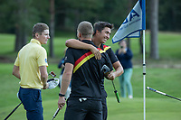 HILVERSUM - Germany wins the final from Sweden (2-1) . Marc Hammer , Nick Bachem,     ELTK Golf 2020 The Dutch Golf Federation (NGF), The European Golf Federation (EGA) and the Hilversumsche Golf Club will organize Team European Championships for men.  COPYRIGHT KOEN SUYK