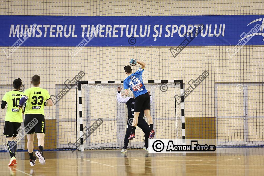 Meciul de handbal masculin dintre CSM Vaslui si CSM Focsani 2007 în Liga Zimbrilor, vinerii 9 aprilie 2021, la Sala Horia Demian din Cluj-Napoca. © Action Foto / Mircea Rosca Unauthorized use is prohibited. All rights reserved.
