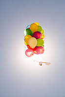 Gopro Camera Attached To Balloons