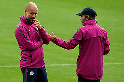 Manchester City manager Pep Guardiola - Mandatory by-line: Matt McNulty/JMP - 12/09/2017 - FOOTBALL - City Football Academy - Manchester, England - Feyenoord v Manchester City - Training Session - UEFA Champions League - Group F
