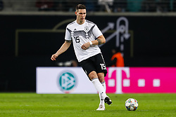 November 15, 2018 - Leipzig, Germany - Niklas Sule of Germany passes the ball during the international friendly match between Germany and Russia on November 15, 2018 at Red Bull Arena in Leipzig, Germany. (Credit Image: © Mike Kireev/NurPhoto via ZUMA Press)